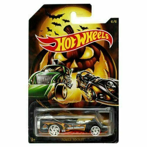 Mattel Hot Wheels Halloween 2019 Scary Cars 6/6 - $2.96