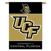 Central Florida Knights 28 X 40 Premium 2-Sided Banner With Pole Sleeve  - $37.95