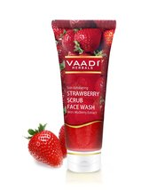 STRAWBERRY SCRUB FACE WASH with Mulberry extract - $3.99+