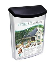 Source One Premium Large Outdoor Realtor Style Brochure Holder S1-ODBH-B... - $158.52