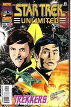 Star Trek Unlimited Comic Book #9, Marvel 1998 NEAR MINT - $3.99