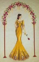 """Rosa Mystica"" Cross Stitch Kit w/ 16 Count Aida - $69.29"