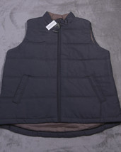 WEATHERPROOF Full Zipped MENS VEST Size 2XLT Gray NWT NEW - $31.73