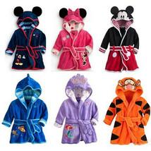 Baby Kid Toddler Boy Girl Cartoon Pajamas Sleepwear Bathrobe Hooded Clot... - $25.50