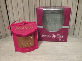 Santa's Mailbox Ornament - Leave a personal note inside of the box! - $6.50