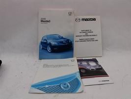 Owners Manual Mazda 3 2008 08 861202 - $39.49