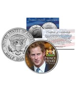 PRINCE HARRY Colorized JFK Kennedy Half Dollar U.S. Coin - PRINCE HENRY ... - $8.86