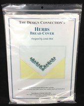 The Design Connection's Herbs Bread Cover Linda Bird Cross Stitch Kit K8... - $6.95