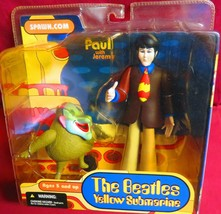 "MCFARLANE FIGURE, 2004, ""THE BEATLES"",  YELLOW SUBMARINE, PAUL WITH JEREMY - $24.74"