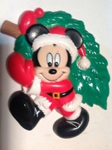 Disney Mickey Mouse Christmas Magnet Dated 1995 - $8.91