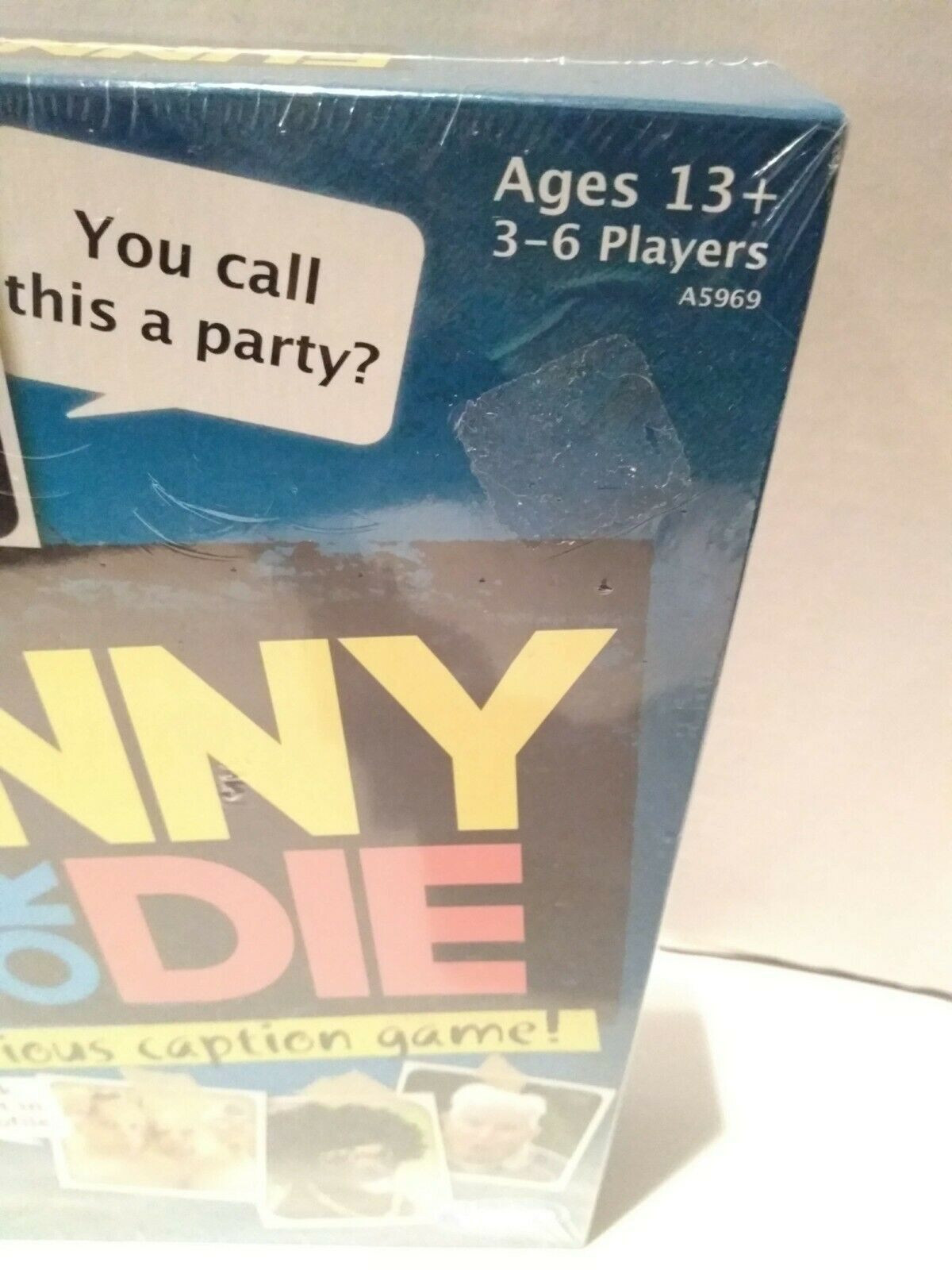 Funny or Die The Hilarious Caption Game Ages 13+ Hasbro Gaming 3-6 Players image 2