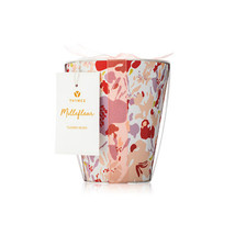 Thymes Millefleur Poured Candle Flower Pot 10oz - $45.00