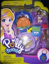 Polly Pocket Tiny Pocket Places Camping Compact Shani Doll Mattel Toy - $8.21