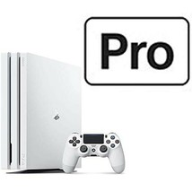 Sony PlayStation(R)4 PS4 Pro Game Console Glacier White HDD 1TB with Tra... - $724.39