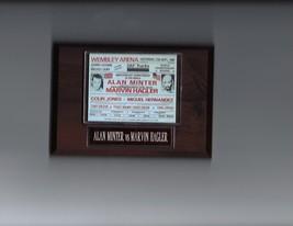 Alan Minter Vs Marvin Hagler Plaque Boxing Champion Poster Photo Plaque - $0.98
