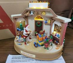 Avon 2008 Animated Musical Lighted Rotating Santa's Workshop Twirling Elves - $35.00