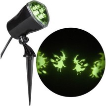 Halloween Lightshow Projection Whirl-a-Motion Witch for Halloween Decor ... - €34,79 EUR