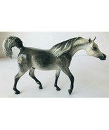 Breyer Custom Signed BSM Classic Model Horse Dapple Grey Arabian Stallio... - $120.94