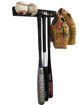 ALPHA Bat Rack Multi-Purpose Fence & Wall Mounted STEEL Baseball / Softball Bat