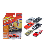 Muscle Cars USA Set of 6 1/64 Diecast Model Cars by Johnny Lightning JLM... - $64.78