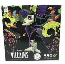 "Disney 2019 Villains Maleficent 550 Piece Jigsaw Puzzle By Ceaco  24"" x 18"" - $13.86"