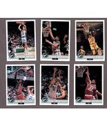 1992 CLASSIC DRAFT PICKS PROMOS COMPLETE SET (6) w/ SHAQUILLE O'NEAL (RC) - $19.75