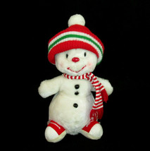 """Russ Berrie Snowflake Plush 10"""" Vintage Musical Lullaby Frosty Christmas - $34.64"""