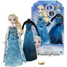 "NEW Disney 2015 FROZEN 11"" Doll ELSA Sparkly Snow Queen Gown + Coronatio... - $39.99"