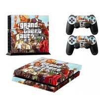 Grand Theft Auto 5 Skin Stickers for Sony PS4 Playstation 4 Console Controllers - $13.50