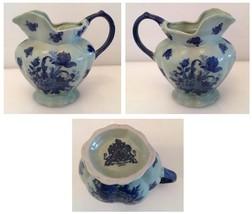 Vintage Victoriaware Ironstone Flow Blue Pitcher - $49.99