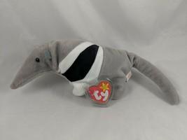 "Ty Beanie Baby Ants Anteater Plush 12"" 1998 Stuffed Animal - $3.71"