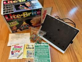 LITE BRITE light bright Vintage picture Toy Working 1990 - $22.18