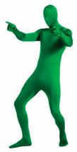 2nd Skin Green Man Zentai Lyrca Bodysuit Adult Halloween Costume M-XL 88... - $22.99