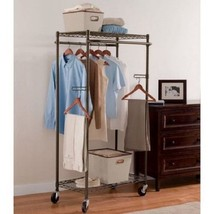 Closet Garment Rack Stand Clothing Organizer Ho... - $75.23