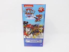 Cardinal Nickelodeon Lenticular Jigsaw Puzzle - New - 24 pc - Paw Patrol - $9.49