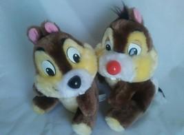 "Disneyland Walt Disney  9"" Chip & Dale Chipmunks Stuffed Animal  Plush Pair - $14.65"
