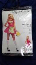 Beer Garden Gretel Biergarten Adult Halloween Costume Dress Apron Medium - $29.70