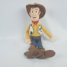 "Disney Store Toy Story Woody 11"" Plush Sheriff Cowboy Soft Doll Stuffed ... - $19.35"