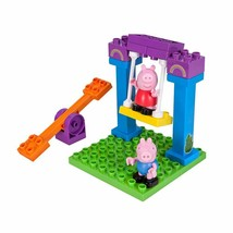 Peppa Pig's Playground: 15-Piece Peppa Pig Mini-Figure Construction Playset - $38.60