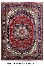 7x10 Tabriz Conservatory Handmade Persian Carpet Rug - $916.58