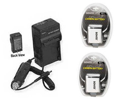 2 Batteries + Charger for Canon A2600 ELPH 190 IS IXUS 125 HS 132 135 140 240 HS - $33.19