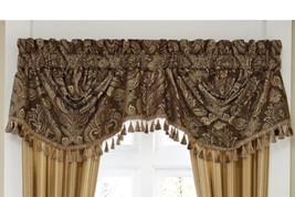 "CROSCILL Estate ASHFIELD Size: 44 x 28"" Window SWAG VALANCE Rod Pocket NEW - $90.00"