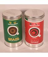 Lot of 2 Brooklyn Roasting Company Brazil Santana Da Vargem Bali Kintama... - $19.80