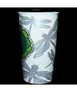 2014 Starbucks Double Wall Traveler DOT Collection Dragonfly Ceramic Tum... - $44.99
