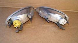 97-04 Mercedes SLK230 SLK320 R170 Parking Corner Light Lamps Set Pair L&R image 4