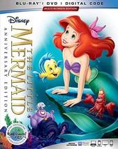 The Little Mermaid Disney Blu-ray + DVD + Digital Copy NEW - $18.74