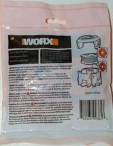 WORX WA0004 Replacement Spool Line DNA Line 2 Orange Red 10 Feet Pkg 2 .065 Size image 3