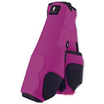 Classic Equine Legacy System Front Boots Large Fuschia image 1