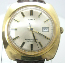 Vintage Men's Timex Automatic Self Wind WR Analog Date Dial Watch (C2) New Band - $99.00