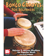 Bongo Grooves For Beginners DVD by Alan Dworsky/Volume 3 - $13.99